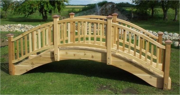 bonitos puentes madera natural