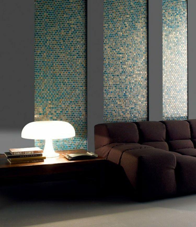 bonito mosaico tonos turquesa