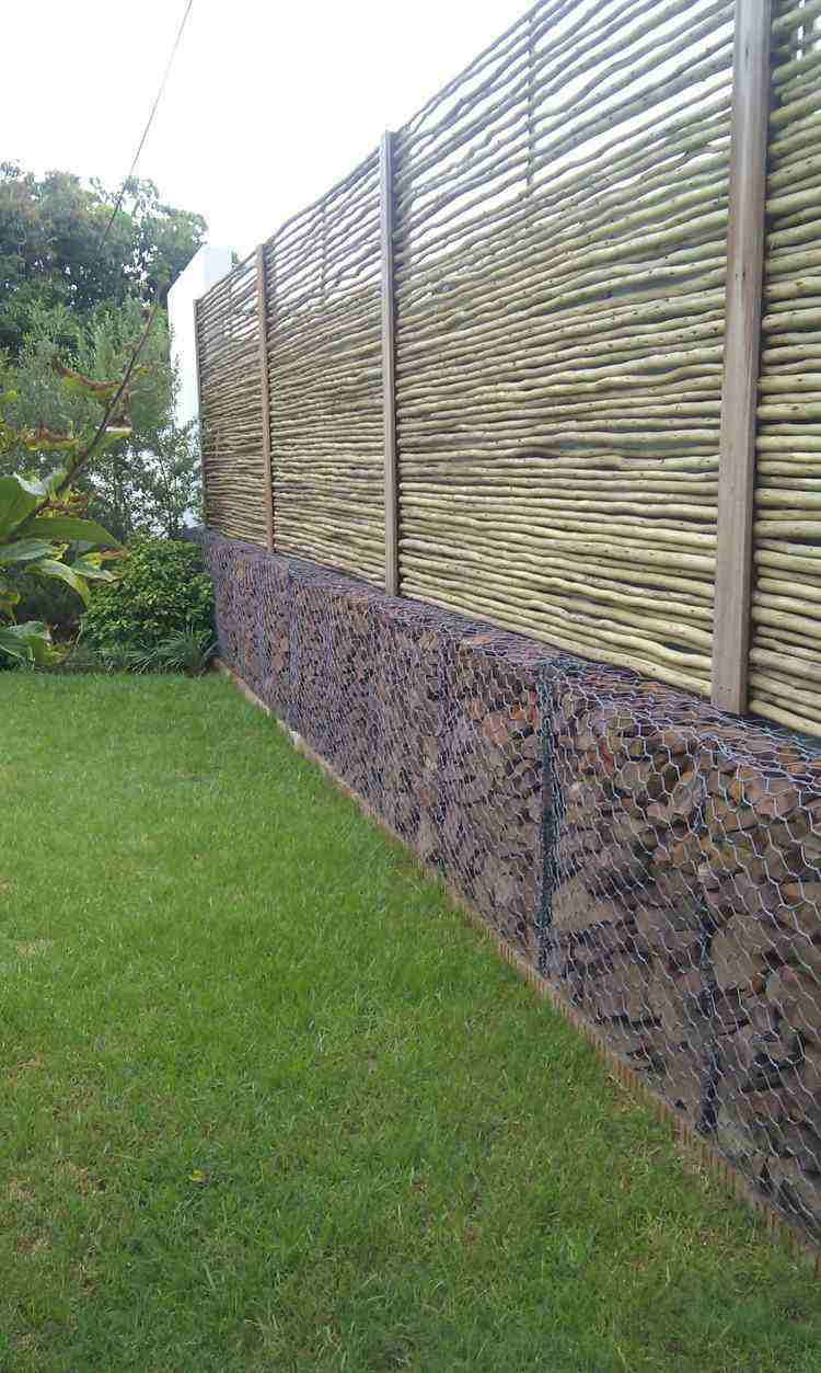 bonitos muros vallas jardines modernos