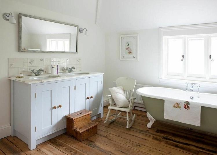 bonitos diseños baños shabby