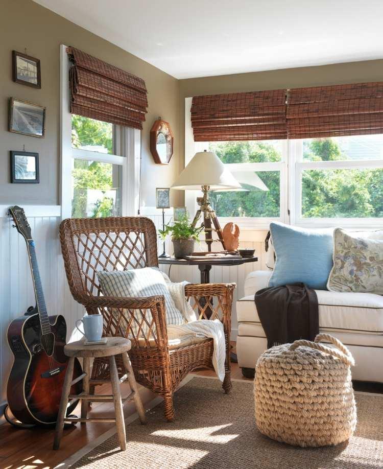 bonitos muebles estilo rustico