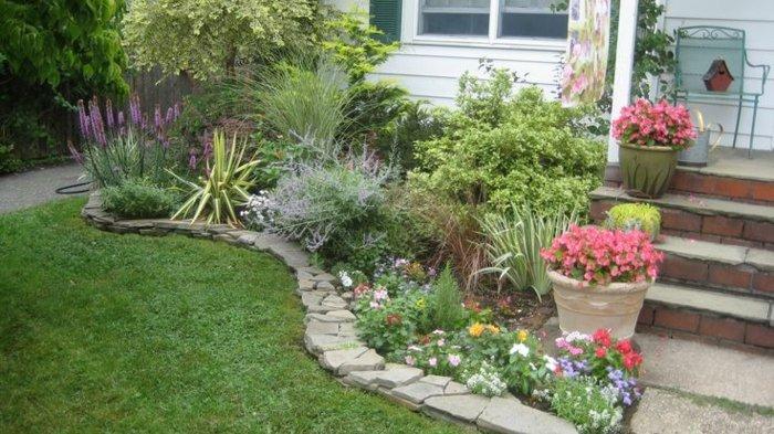 Jardin rustico definicion v rias id ias de for Bordillos para jardin