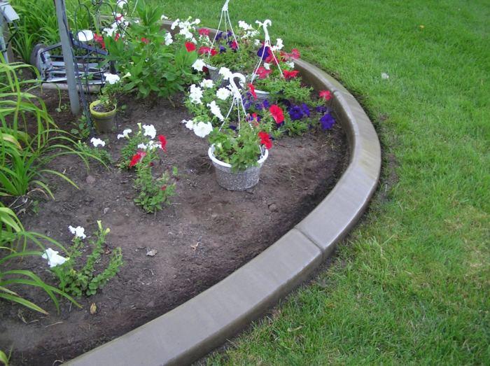 bordillos para jardin soluciones detalles blanco