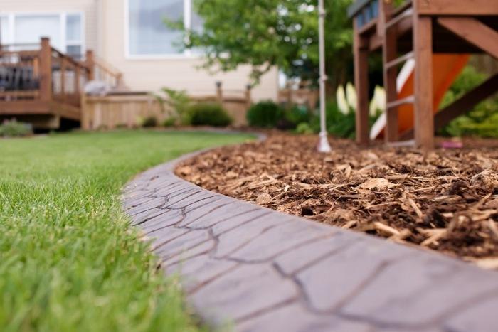 bordillos para jardin vistas medidas casas
