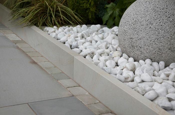 bordillos para jardin cesped rocas profesional