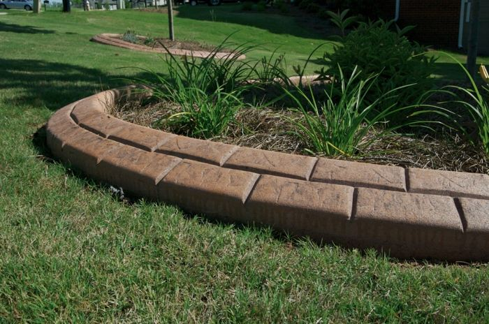 bordillos para jardin soluciones estilos plantas