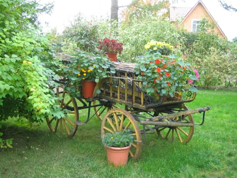 Jardines rusticos ideas para elementos decorativos - Decorar jardines rusticos ...
