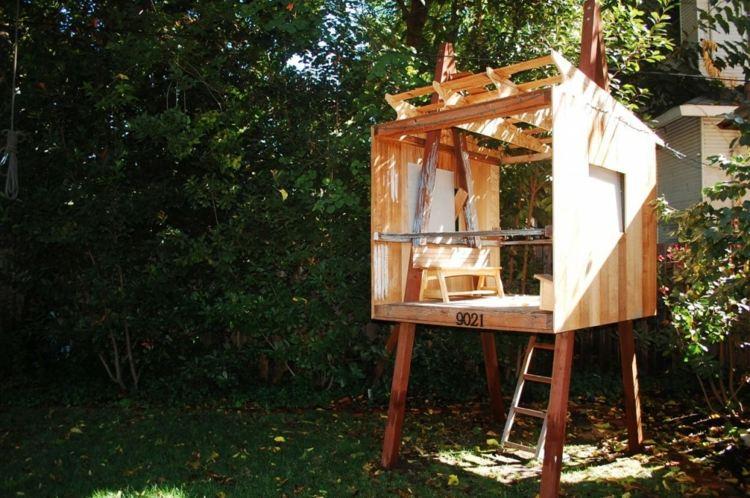 cabaa madera moderna deco nios