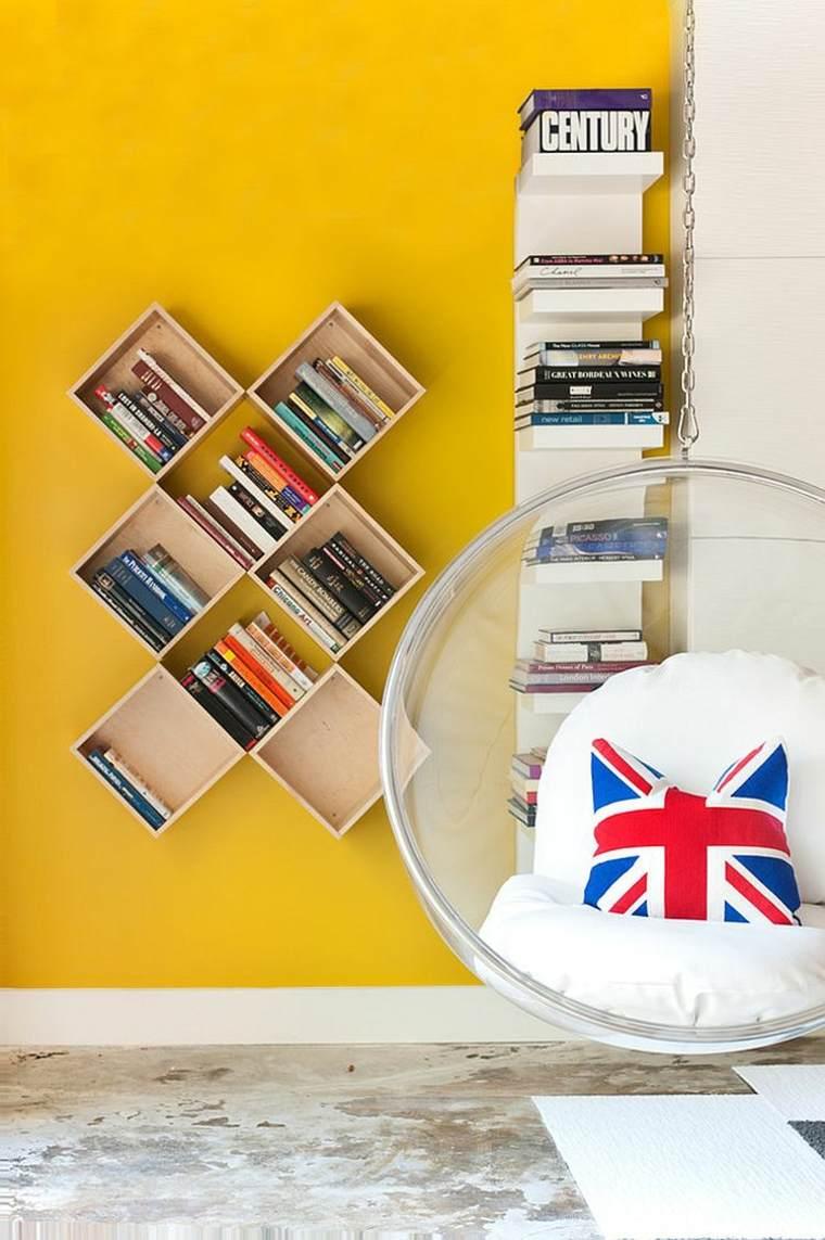 Estanter As Para Habitaciones Infantiles 50 Ideas Geniales  ~ Estanterias Para Libros Infantiles