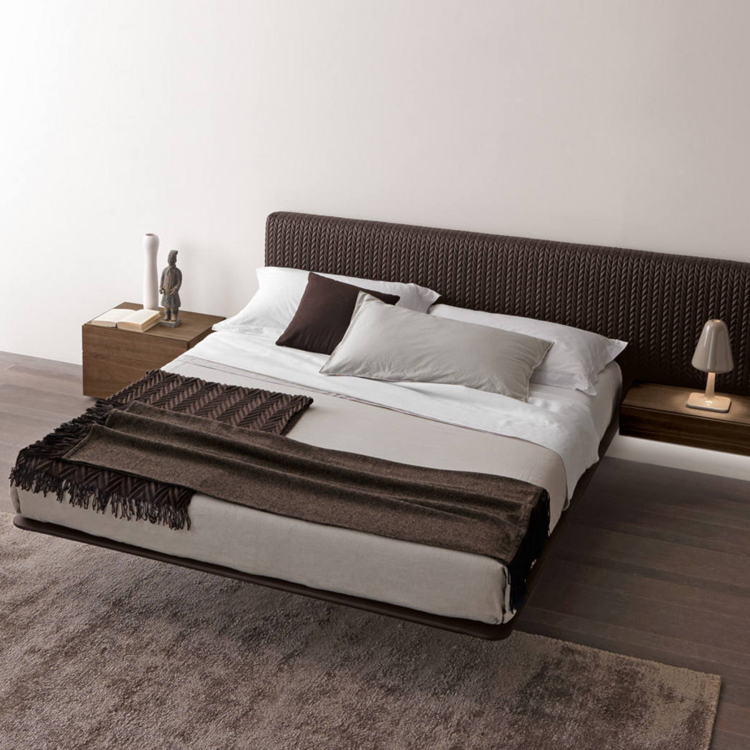 cama diseño moderno armoniosas colores tendencias