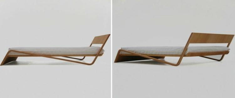 cama diseño moderno compuertas salones metales