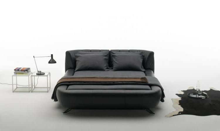 cama diseño moderno estilos casas grises