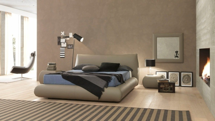 cama diseño moderno lineas salidas conceptos