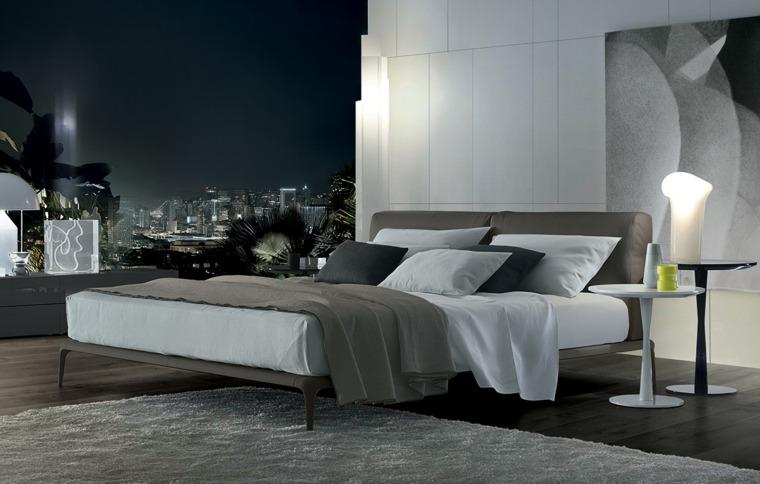 camas modernas firma Poliform