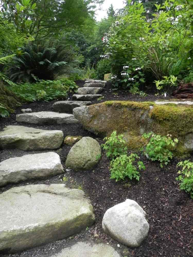 camino pieras estilo Zen