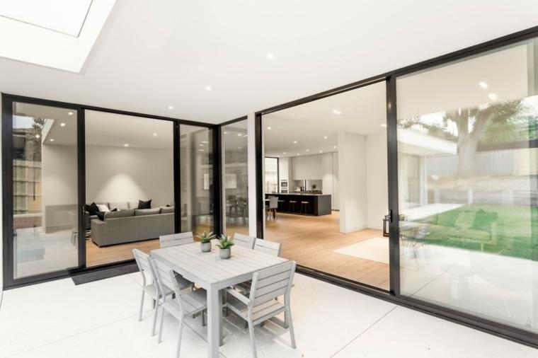 casa diseno terrazas opciones muebles simples ideas