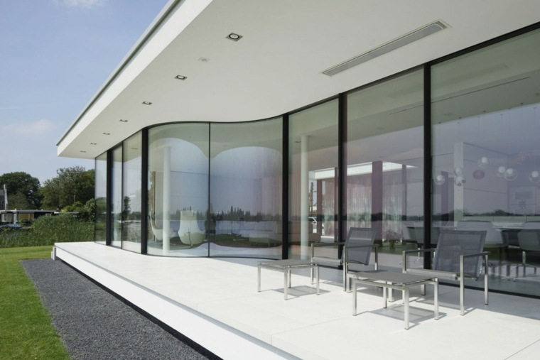 casa diseno terrazas tumbonas modernas ideas