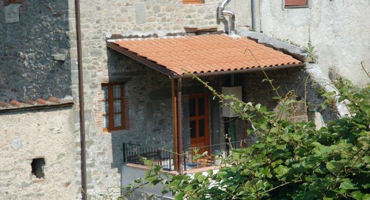 casa italiana terraza rústica