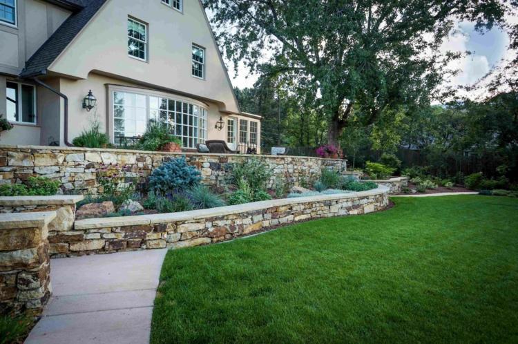 casa jardin dos gradas piedra