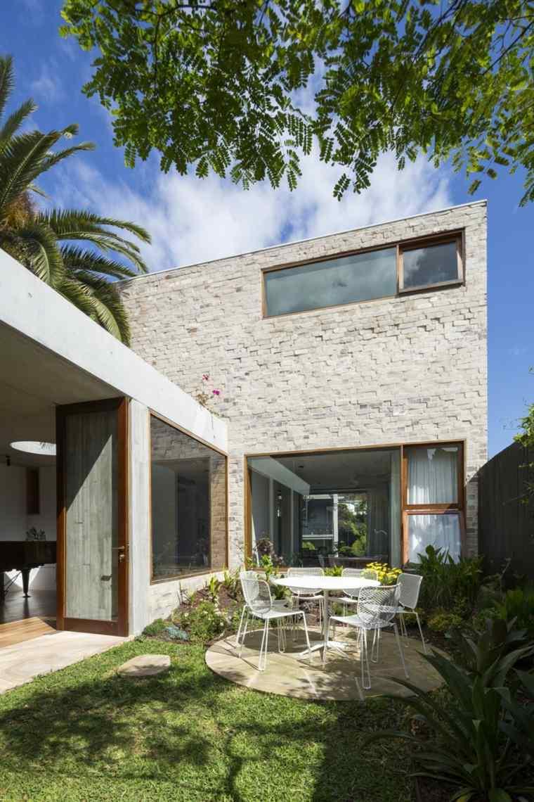 casa jardin pequena residencia original ideas
