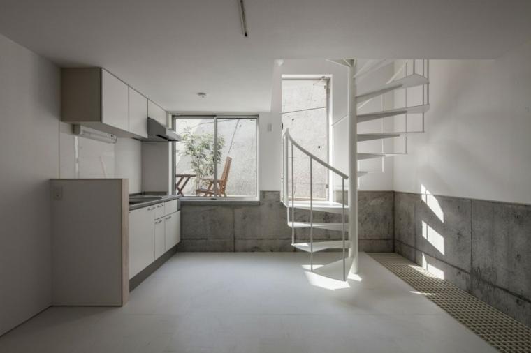 Escaleras de interior 74 dise os coloridos for Casas con escalera caracol