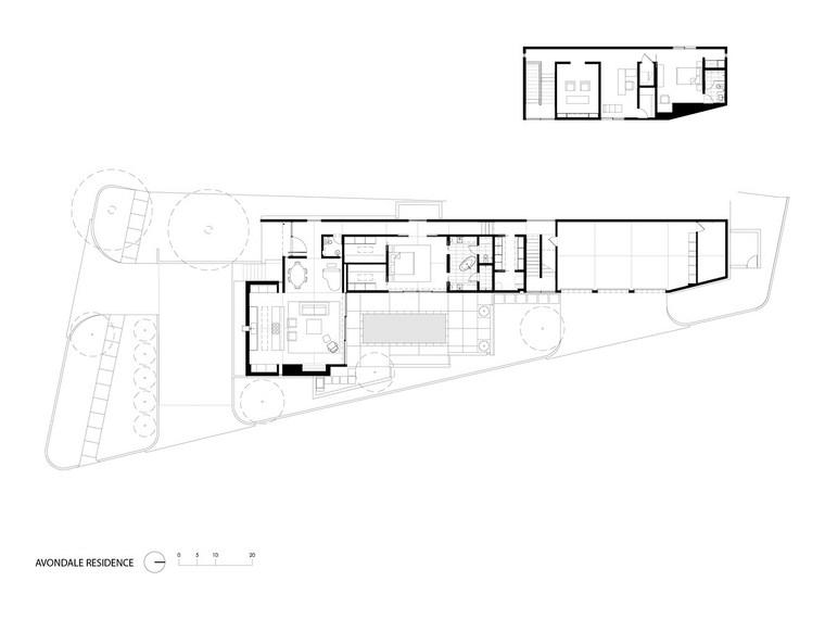 casa pequena esquema piso interior ideas