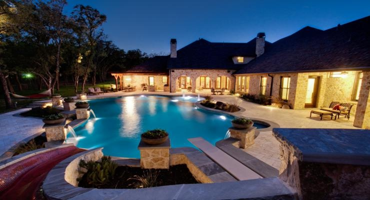 original diseño piscina común