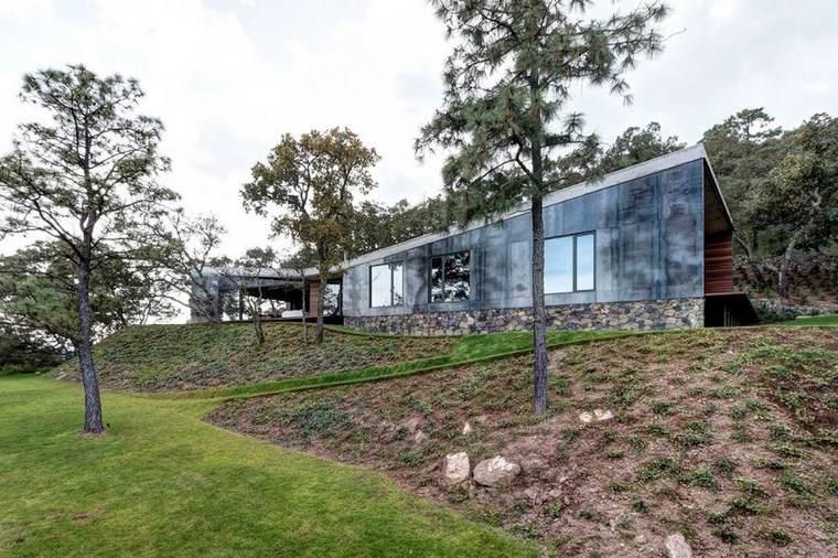 casas con encanto jardin amplio arboles ideas