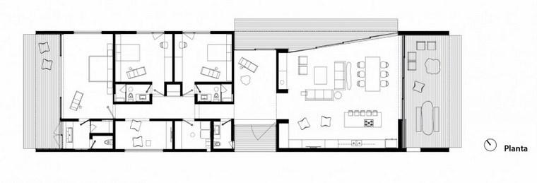 casas distribucion habitaciones esquema ideas