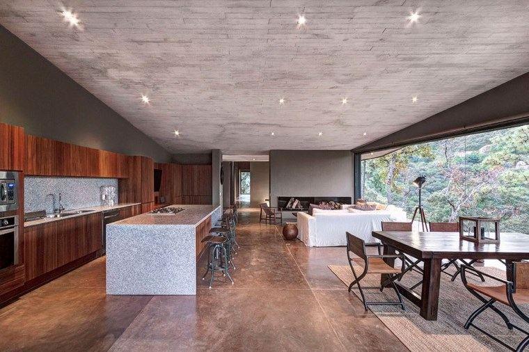 casas encanto cocina comedor mismo espacio ideas