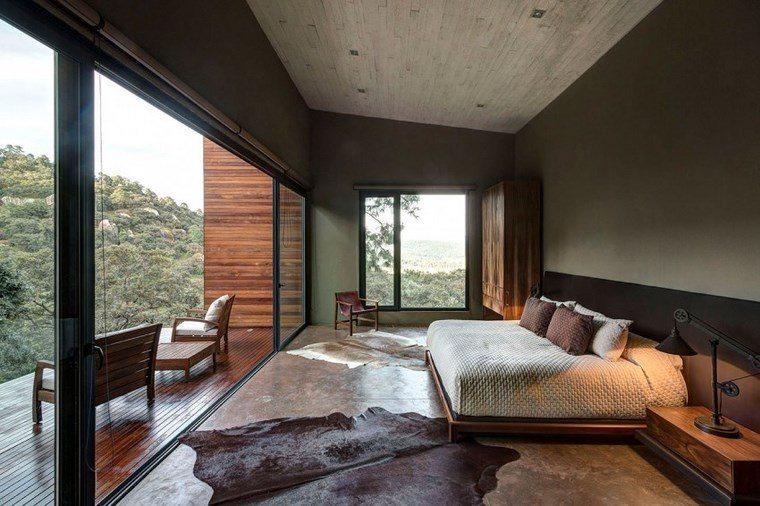 casas encanto dormitorio piel suelo ideas