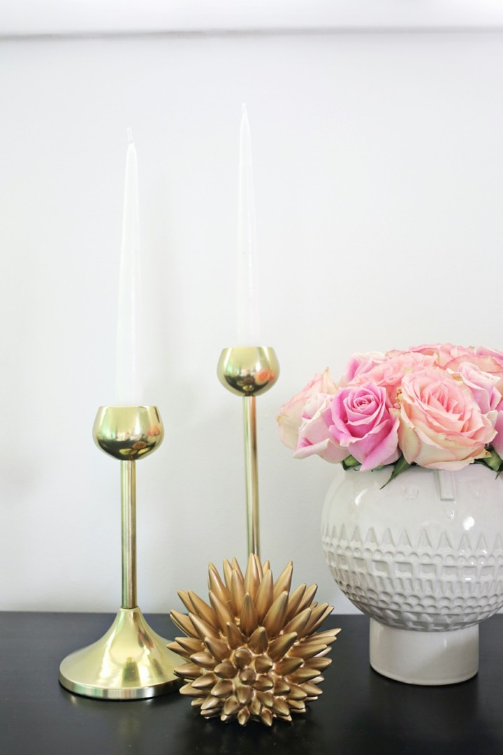 ceniceros dorados candelabros espacios espacios