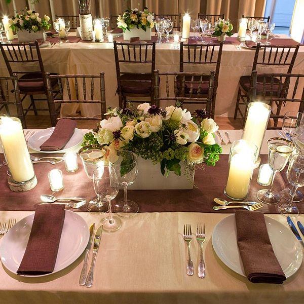 centro mesa boda pequeno flores ideas