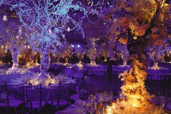 centros de mesa para bodas el pais de las maravillas invierno ideas