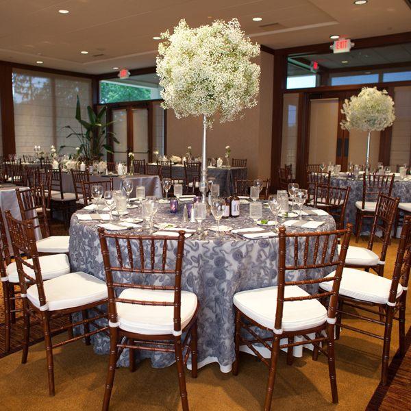 centros mesa bodas alto grande ideas