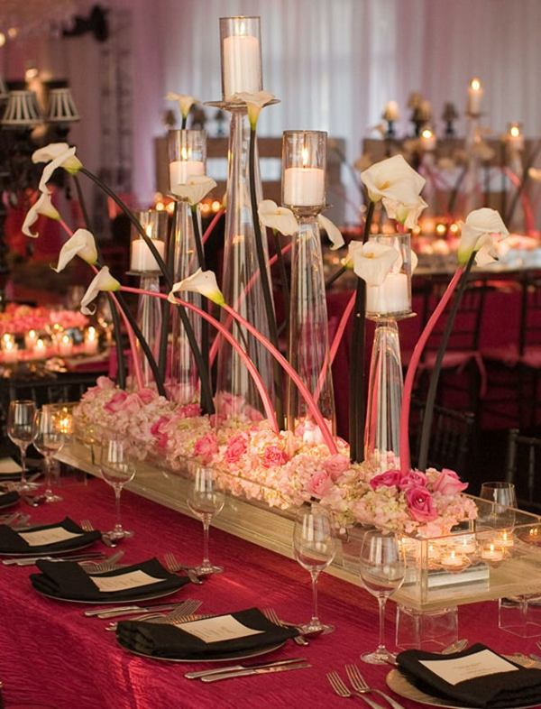 centros mesa bodas arreglo floral original ideas