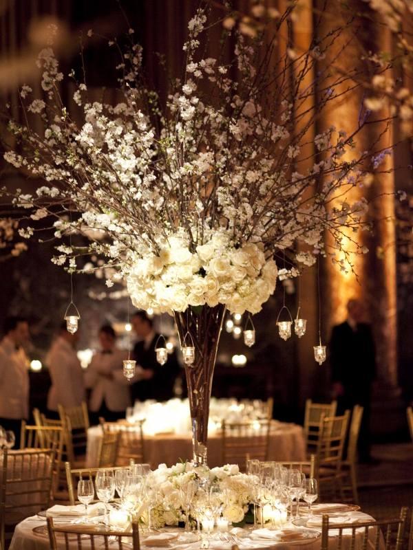 centros mesa bodas candelabros moderno ideas