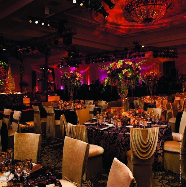 centros mesa bodas escenarios dramaticos ideas