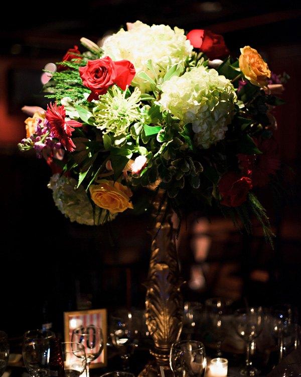centros mesa bodas precioso flores ideas