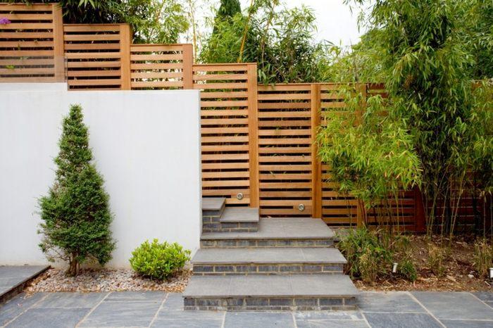 cerramientos jardin bambu plantas cintas