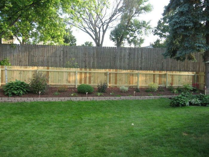 cerramientos jardin complejos maderas arboles