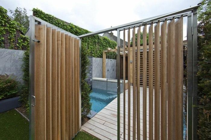 cerramientos jardin moderno simples conceptos