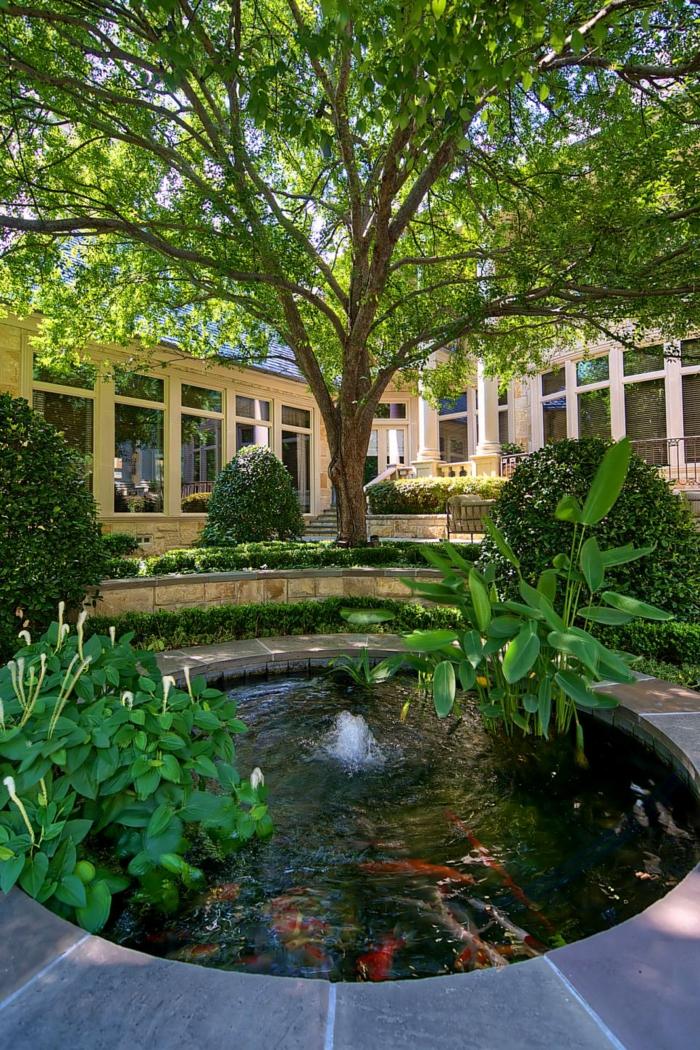 circular springs talents rooms trees
