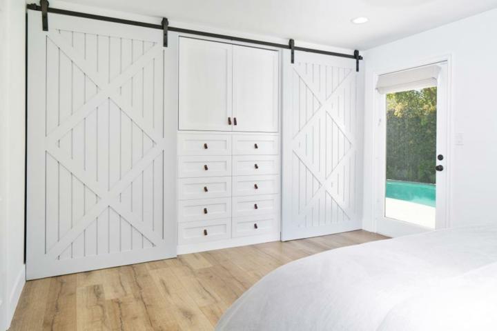 Diy Barn Style Bathroom Door: Puertas Correderas Diseño Tipo Granero, 75 Ideas Increíbles