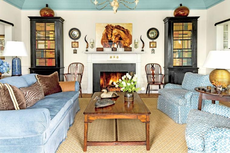 Ideas para decorar la sala de estar en primavera for Muebles sala estar
