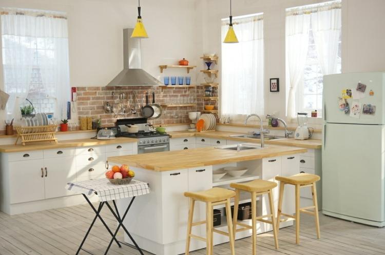 cocinas evitar colores estados reguladas amarillo