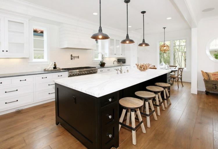 cocinas evitar luminarias espacios lineas