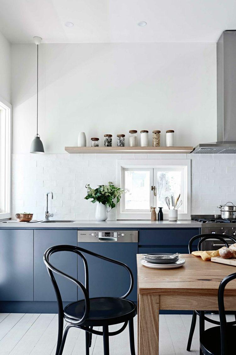 cocinas evitar negro colores plantas azules