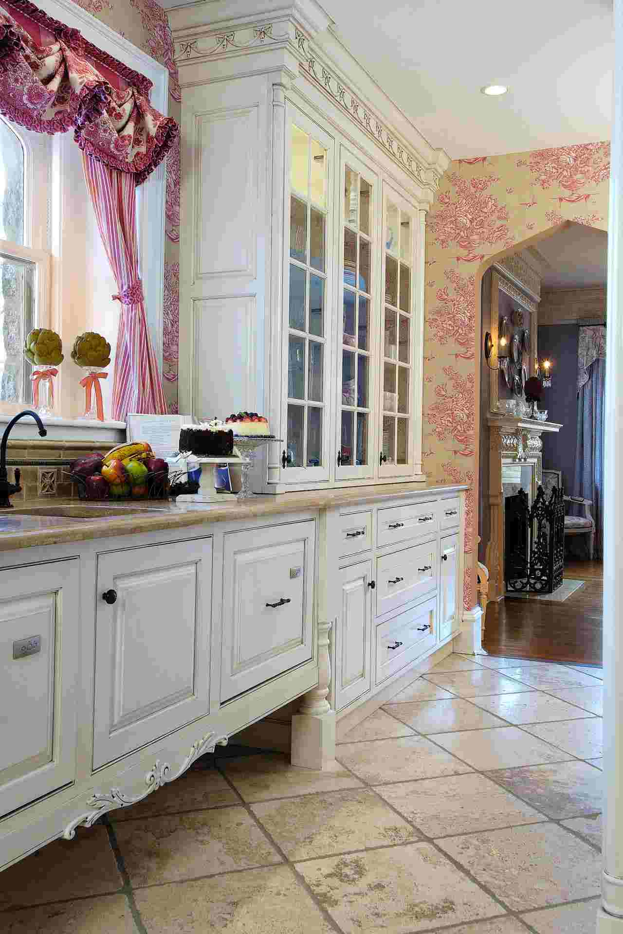 cocinas lujosas diseño estilo shabby