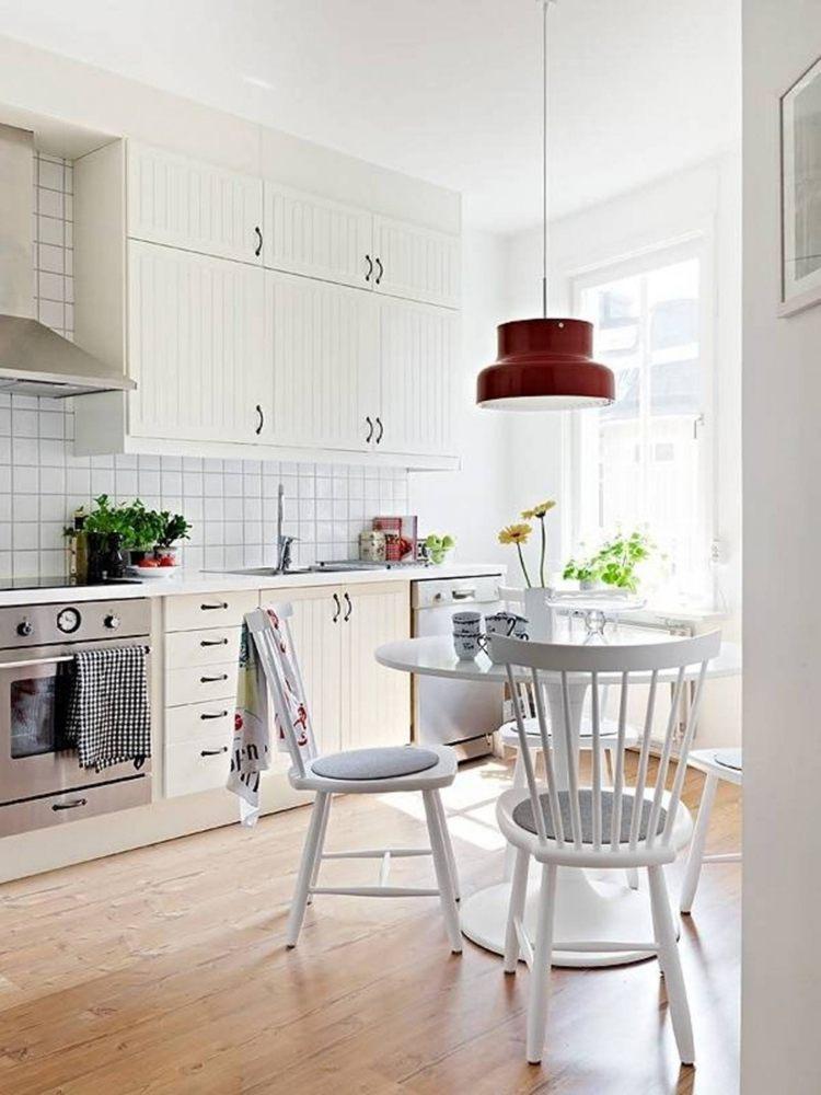 cocinas pequeñas estilo nórdicas